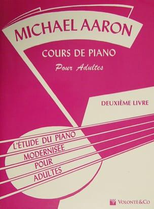 Cours de piano pour Adultes - Volume 2 Michael Aaron laflutedepan