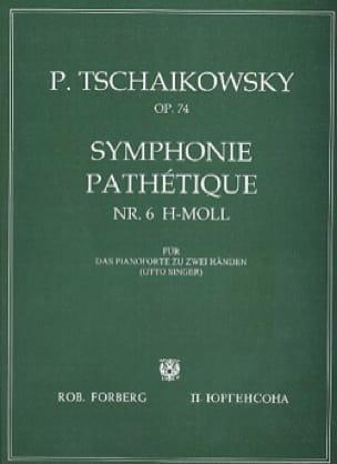 Symphonie Pathétique Opus 74 - TCHAIKOVSKY - laflutedepan.com