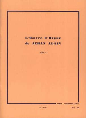 Jehan Alain - Organ Work. Volume 2 - Partition - di-arezzo.co.uk