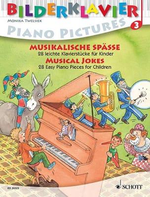Musical Jokes Partition Piano - laflutedepan