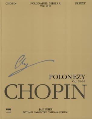 Polonaises. Série A CHOPIN Partition Piano - laflutedepan
