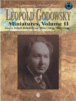 Miniatures, Volume 2 - 4 Mains GODOWSKY Partition Piano - laflutedepan