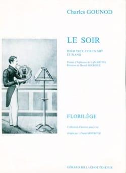 Le Soir GOUNOD Partition Cor - laflutedepan