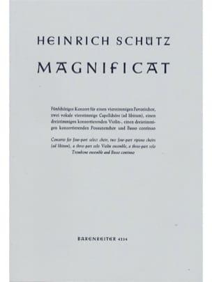 Magnificat Für 2 Instrumentalchöre Swv 468 SCHUTZ laflutedepan