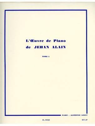Oeuvre de Piano Volume 1 Jehan Alain Partition Piano - laflutedepan