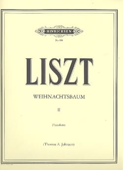 Weihnachtsbaum II LISZT Partition Piano - laflutedepan