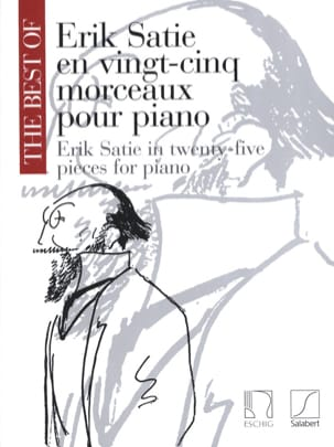 25 Morceaux pour Piano SATIE Partition Piano - laflutedepan