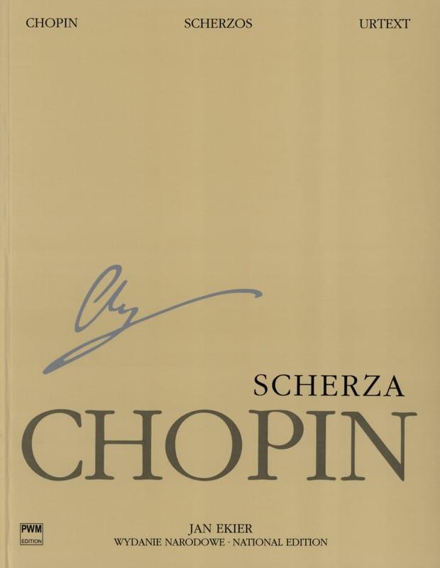 Scherzi - CHOPIN - Partition - Piano - laflutedepan.com