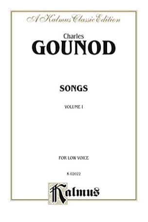 Songs Volume 1. Voix Grave GOUNOD Partition Mélodies - laflutedepan