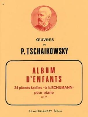 Album d'Enfants Opus 39 - TCHAIKOVSKY - Partition - laflutedepan.com