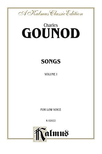 Songs Volume 1. Voix Grave - GOUNOD - Partition - laflutedepan.com