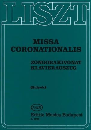 Franz Liszt - Missa Coronationalis - Partition - di-arezzo.co.uk