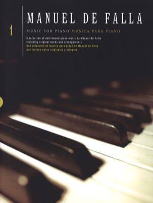 Musique pour piano Volume 1 DE FALLA Partition Piano - laflutedepan