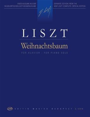 Weihnachtsbaum - LISZT - Partition - Piano - laflutedepan.com