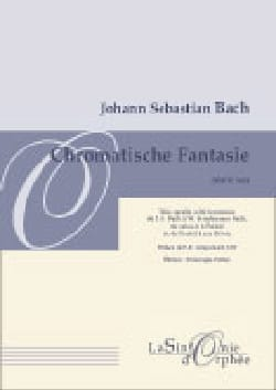 Fantaisie Chromatique et Fugue BWV 903 BACH Partition laflutedepan