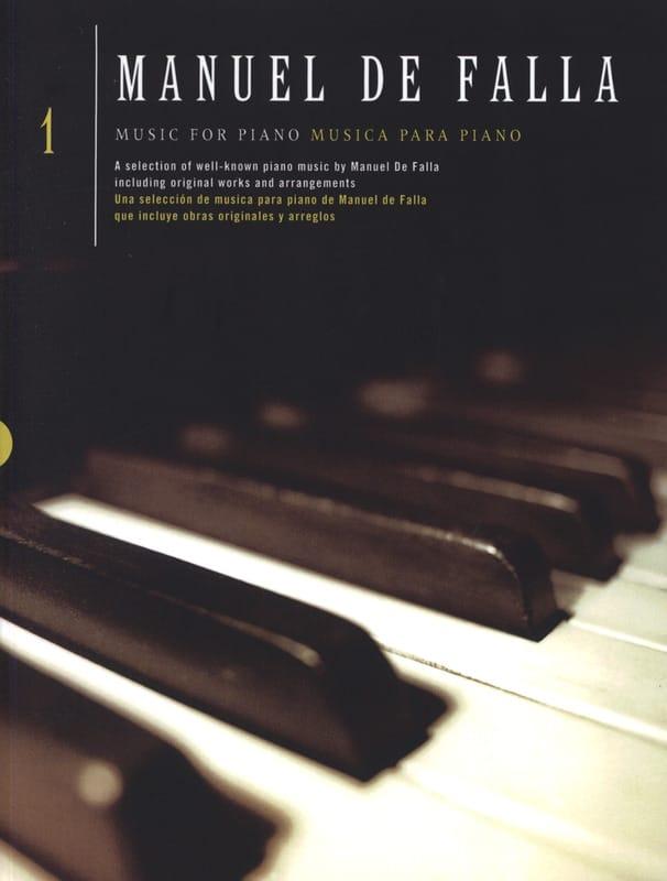 Musique pour piano Volume 1 - DE FALLA - Partition - laflutedepan.com