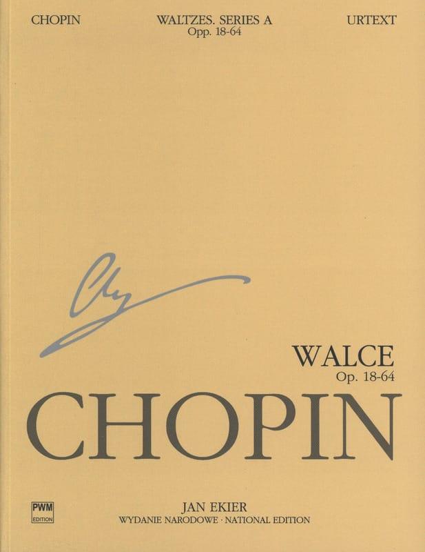 Valses. Serie A. - CHOPIN - Partition - Piano - laflutedepan.com