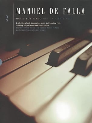 Musique pour piano Volume 2 DE FALLA Partition Piano - laflutedepan