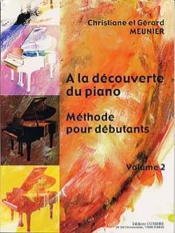 A la Découverte Du Piano Volume 2 Gérard Meunier laflutedepan