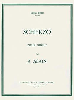 Scherzo Albert Alain Partition Orgue - laflutedepan