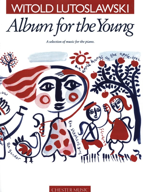 Album For The Young - LUTOSLAWSKI - Partition - laflutedepan.com