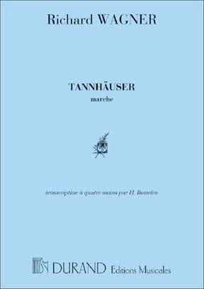 Marche de Tannhauser. 4 Mains - WAGNER - Partition - laflutedepan.com