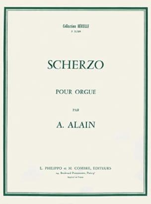 Scherzo - Albert Alain - Partition - Orgue - laflutedepan.com