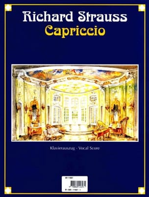 Capriccio Opus 85 Richard Strauss Partition Opéras - laflutedepan