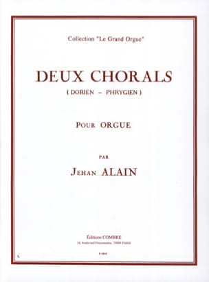 Jehan Alain - 2 Dorian-Phrygian Chorales - Partition - di-arezzo.co.uk