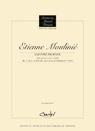 Airs pour voix et luth du 3e Livre d'Airs de Cour avec la tablature 1629 laflutedepan