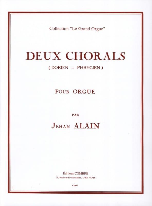2 Chorals Dorien-Phrygien - Jehan Alain - Partition - laflutedepan.com