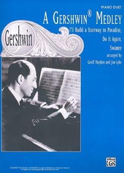 A Gershwin Medley. 4 Mains GERSHWIN Partition Piano - laflutedepan