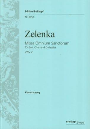 Missa Omnium sanctorum Zwv 21 - ZELENKA - Partition - laflutedepan.com