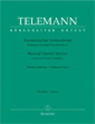 Harmonischer Gottesdienst. Volume 2. Voix Moyenne - laflutedepan.com