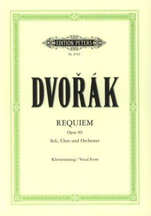 DVORAK - Requiem Opus 89 - Partition - di-arezzo.co.uk