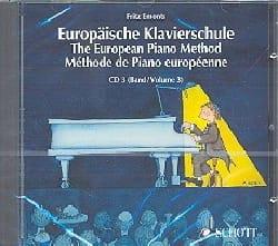 Méthode Européenne de Piano Volume 3 - CD Fritz Emonts laflutedepan