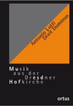 Dixit Dominus. Conducteur Antonio Lotti Partition Chœur - laflutedepan