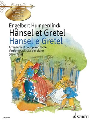 Hänsel et Gretel Engelbert Humperdinck Partition Piano - laflutedepan