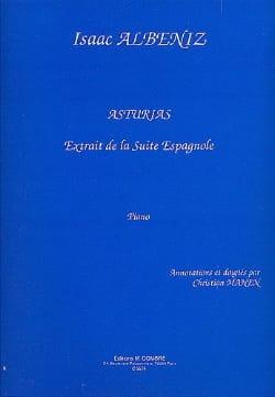 Asturias. - ALBENIZ - Partition - Piano - laflutedepan.com