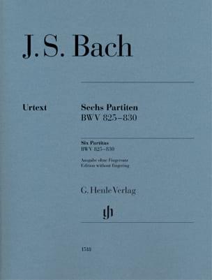 BACH - 6 Partitas - Partition - di-arezzo.fr