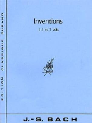 Inventions à 2 et 3 Voix - BACH - Partition - Piano - laflutedepan.com