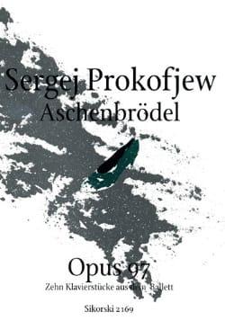 Aschenbrödel Opus 97. PROKOFIEV Partition Piano - laflutedepan