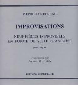 Improvisations Pierre Cochereau Partition Orgue - laflutedepan