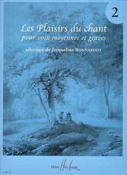 Les Plaisirs Du Chant Volume 2. Voix Moyenne / Grave laflutedepan