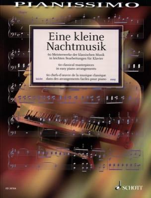 Eine Kleine Nachtmusik Partition Piano - laflutedepan