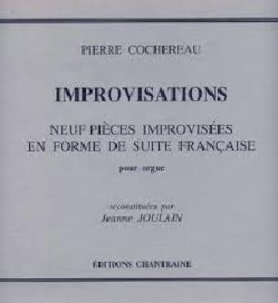 Improvisations - Pierre Cochereau - Partition - laflutedepan.com
