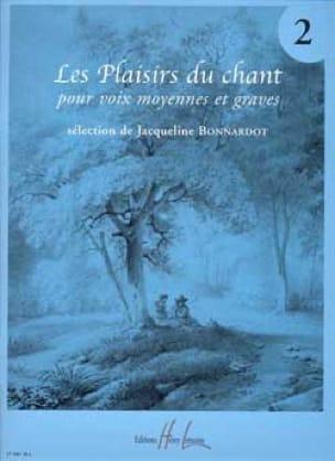Les Plaisirs Du Chant Volume 2. Voix Moyenne / Grave - laflutedepan.com