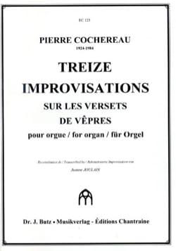13 Improvisations sur les Versets De Vêpres laflutedepan