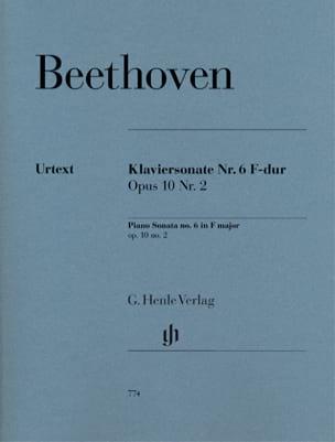 Sonate pour piano n° 6 en Fa majeur op. 10-2 - laflutedepan.com