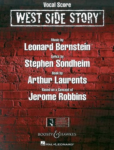 West Side Story - BERNSTEIN - Partition - Opéras - laflutedepan.com